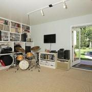 Selena Gomez's new Studio City, California home - property, real estate, room, gray