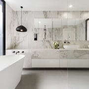 LSA Architects - TIDA AUS 2017 – Architect-designed architecture, bathroom, floor, flooring, interior design, interior designer, product design, room, sink, tap, tile, wall, gray