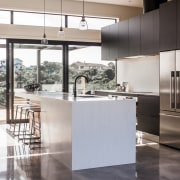 Rowson Kitchen & Joinery - Rowson Kitchen & cabinetry, countertop, cuisine classique, floor, interior design, kitchen, white, gray, black