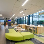 Cafe - architecture | interior design | lobby architecture, interior design, lobby, real estate, gray