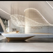 Mayfair Residential Tower – Zaha Hadid Architects architecture, daylighting, furniture, interior design, product design, gray
