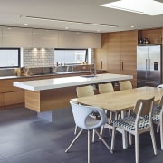 New Zealand Architecture Awards countertop, floor, flooring, interior design, kitchen, real estate, table, gray