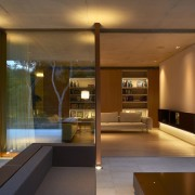 Architect: Ramón Esteve Estudio de Arquitectura architecture, ceiling, home, house, interior design, lighting, living room, lobby, real estate, window, brown