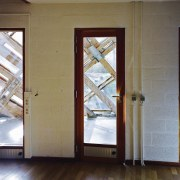 Forestry Branch – Marche-en-Famenne - Forestry Branch – daylighting, door, floor, glass, home, window, gray, brown