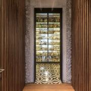 Architect: Central de Proyectos SCP door, interior design, lobby, wall, window, wood, brown