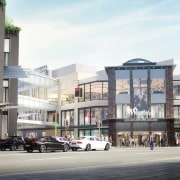 Westfield Newmarket – a new world-class retail and apartment, building, city, commercial building, condominium, downtown, metropolitan area, mixed use, neighbourhood, property, real estate, residential area, street, town, urban design, white, gray