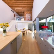 Tobey Maguire's new West Hollywood home - Tobey countertop, house, interior design, loft, property, real estate, white