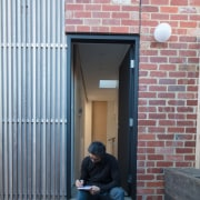 Need inspiration? Pop outside with a sketch pad alley, architecture, brick, brickwork, building, door, facade, house, infrastructure, street, urban area, wall, window, gray