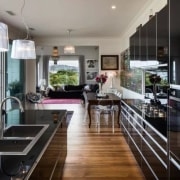 Need splashback ideas for your kitchen? countertop, interior design, kitchen, real estate, black, gray