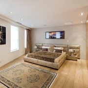 Source: Trulia ceiling, floor, flooring, hardwood, interior design, living room, property, real estate, room, wood, wood flooring, gray