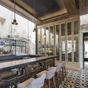 Architect: Central de Proyectos SCP interior design, real estate, white, black