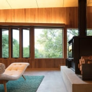 Architect: MRTN ArchitectsPhotography by Nic Granleese architecture, ceiling, hardwood, house, interior design, living room, real estate, window, wood, brown