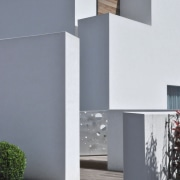 Architect: Tisselli Studio architecture, building, facade, home, house, property, real estate, residential area, gray