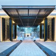 Vanke Park Mansion 'True Love' – FLOscape Landscape architecture, building, structure, teal