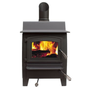 Fisher Denniston Multifuel Fire - Fisher Denniston Multifuel hearth, heat, home appliance, stove, wood burning stove, white