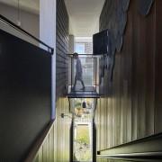 Architect: Austin Maynard ArchitectsPhotography by Peter Bennetts architecture, daylighting, glass, house, interior design, tourist attraction, window, black, gray
