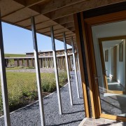 With sustainability and passive design rising high in architecture, door, home, house, property, real estate, window, brown