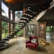 Architect: Studio PKA http://www.purankumar.com/Photographer: Amit Pasricha house, interior design, living room, black