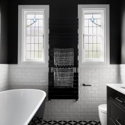 There are reasons for and against choosing a bathroom, bathroom accessory, black, black and white, countertop, home, interior design, kitchen, room, sink, gray, black