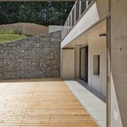 We can't think of a better place to architecture, daylighting, deck, facade, floor, flooring, house, real estate, window, wood, wood flooring, gray, brown