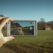 Augmented reality could make it much easier to ecosystem, grass, hand, photography, sky, tree, brown, teal