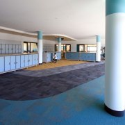 Bunbury Catholic College – Mercy Campus - Bunbury floor, flooring, interior design, leisure centre, lobby, real estate, structure, teal, white