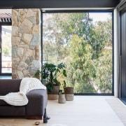 Architect: Alexandra Buchanan ArchitecturePhotography by Debra McFadzean architecture, door, home, house, interior design, living room, property, real estate, window, wood, white