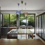 Architect: B.E Architecture architecture, daylighting, door, house, interior design, real estate, window, gray, black