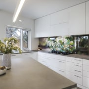 Architect: Ande Bunbury ArchitectsPhotography by Peter Nevett countertop, house, interior design, kitchen, real estate, window, gray