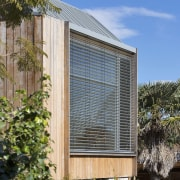 These shutters keep the bedroom private - From architecture, building, daylighting, facade, home, house, real estate, residential area, window