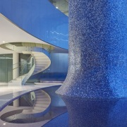 Architect: CannonDesignPhotography by Tim Griffith and architecture, condominium, glass, headquarters, interior design, leisure, leisure centre, property, structure, swimming pool, blue, gray