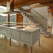 Architect: æ ArchitecturePhotography by Juergen Nogai architecture, countertop, floor, interior design, kitchen, brown, gray