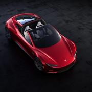 Tesla's new Roadster automotive design, car, computer wallpaper, land vehicle, luxury vehicle, mode of transport, motor vehicle, performance car, race car, sports car, supercar, vehicle, black