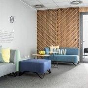 Architect: Metaforma Photography by Krzysztof Strażyński  floor, furniture, interior design, office, product design, wall, white