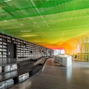A new take on the bookstore - A architecture, ceiling, daylighting, interior design, library, public library, green