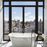 Jon Bon Jovi's new apartment in NYC – architecture, interior design, real estate, window, white, gray