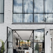 Architect: Technē Architecture + Interior DesignPhotography by architecture, building, condominium, facade, house, window, gray
