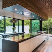 Look up – a feature of this living architecture, ceiling, countertop, daylighting, estate, house, interior design, kitchen, real estate, window