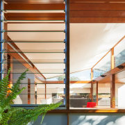 Architect: Day Bukh ArchitectsPhotography by Katherine Lu architecture, daylighting, facade, home, house, interior design, real estate, roof, window, wood, brown, white