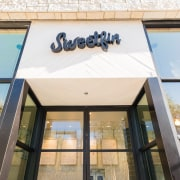 Sweetfin Poke San Diego – Mayes Office - architecture, building, daylighting, facade, glass, property, roof, window, white