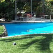 TigerTurf works great besides pools backyard, estate, grass, lawn, leisure, plant, property, resort, swimming pool, green