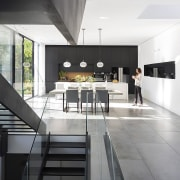 Architect: Shachar-Rozenfeld architectsPhotography by Shai Epstein architecture, daylighting, floor, house, interior design, white, gray, black