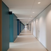 Zaans Medical Centre – Mecanoo - Zaans Medical architecture, ceiling, daylighting, floor, interior design, gray