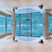 Architect: X+LivingPhotography by Shao Feng architecture, ceiling, daylighting, interior design, leisure centre, room, swimming pool, gray, teal