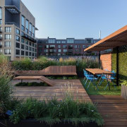 Architect: J.Roc Design apartment, architecture, backyard, condominium, courtyard, estate, home, house, mixed use, outdoor structure, property, real estate, residential area, roof, black
