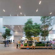 LEGO House – BIG airport terminal, ceiling, convention center, lobby, mixed use, shopping mall, gray