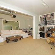 Selena Gomez's new Studio City, California home - interior design, property, real estate, room, gray, orange