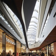 Another view of the interior - Another view architecture, building, ceiling, metropolitan area, shopping mall, black