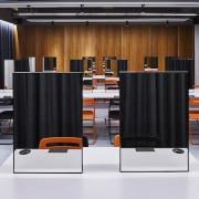 H Academy – Shi-Chieh Lu/CJ Studio - H furniture, interior design, office, product design, black, gray