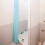 Need to overhaul your student bathroom? bathroom, floor, flooring, plumbing fixture, property, room, tile, white
